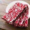 Birch Lane Scarlett Dinner Napkins, Red (Set of 4)
