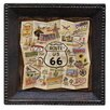 <strong>Thirstystone</strong> Route 66 Map Ambiance Coaster Set (Set of 4)