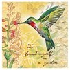 Thirstystone Hummingbird Occasions Coasters Set (Set of 4)