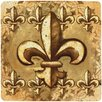 <strong>Fleur de Lis Travertine Ambiance Trivet</strong> by Thirstystone