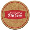 <strong>Thirstystone</strong> Coke Ice Cold Cork Coaster Set (Set of 6)