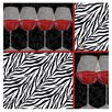 <strong>Zebra Wine Occasions Coasters Set (Set of 4)</strong> by Thirstystone