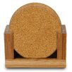 <strong>Thirstystone</strong> 7 Piece Plain Cork Coaster Set