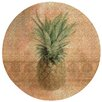 Thirstystone Pineapple Cork Coaster Set (Set of 6)