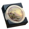 Thirstystone 5 Piece The Sea of Tranquility Collegiate Coaster Gift Set