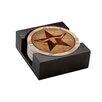 Thirstystone 5 Piece Texas Star Coaster Gift Set