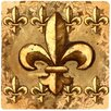 <strong>Thirstystone</strong> Fleur de Lis Travertine Ambiance Coaster Set (Set of 4)
