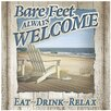 <strong>Thirstystone</strong> Bare Feet Always Welcome Occasions Trivet