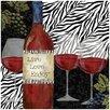 Thirstystone Zebra Wine Occasions Trivet