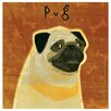 <strong>Thirstystone</strong> Pug Occasions Coasters Set (Set of 4)
