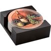 Thirstystone 5 Piece Wine and Fruit Collegiate Coaster Gift Set