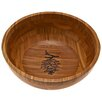 "<strong>Thirstystone</strong> Pine Cone Branch Bamboo 12"" Serving Bowl"