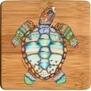 <strong>Thirstystone</strong> Loggerhead Rhythms Bamboo Coaster (Set of 4)