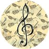 Thirstystone Music Study Coaster (Set of 4)