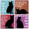 <strong>Thirstystone</strong> 4 Piece Nobody Loves Me Like My Cat Coaster Set