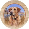 Thirstystone Killen's Yellow Lab Coaster (Set of 4)