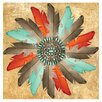 Thirstystone Feather Medallion Occasions Coasters Set (Set of 4)