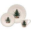 Nikko Ceramics Happy Holidays 12 Piece Dinnerware Set