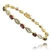 Gem Jolie Diamond Accent Gemstone Bracelet