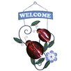 <strong>River Cottage Gardens</strong> Ladybug Welcome Sign