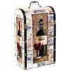 River Cottage Gardens Decorative Wine Suitcase