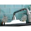 <strong>Double Handle Kitchen Faucet with Spout</strong> by Kingston Brass