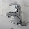 Kingston Brass Wilton Single Handle Bathroom Faucet with ABS Pop-Up Drain  and Optional Deck Plate