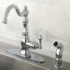 <strong>Kingston Brass</strong> American Classic Gourmetier Single Handle Kitchen Faucet