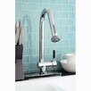 <strong>Kingston Brass</strong> Kaiser Gourmetier Single Handle Pull-Down Spray Kitchen Faucet