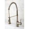 Kingston Brass Concord Gourmetier Single Handle Pull-Down Spray Kitchen Faucet