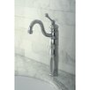 Kingston Brass Heritage Single Handle Vessel Sink Faucet with Optional Cover Plate