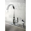 <strong>Continental Gourmetier Single Handle Kitchen Faucet</strong> by Kingston Brass