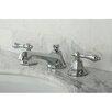 Kingston Brass Metropolitan Double Handle Widespread Bathroom Faucet with Pop-Up Drain