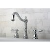 <strong>Kingston Brass</strong> Tudor Double Handle Roman Tub Filler