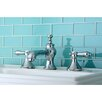 Kingston Brass Bel Air Double Handle Widespread Bathroom Faucet with Pop-Up Drain