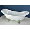 "Kingston Brass Aqua Eden 72"" x 30"" Freestanding Bathtub"