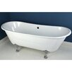 "<strong>Kingston Brass</strong> Aqua Eden 67"" x 27.5"" Freestanding Bathtub"