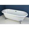 "Kingston Brass Aqua Eden 66"" x 30"" Freestanding Bathtub"