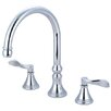 <strong>Kingston Brass</strong> Nu French Double Handle Roman Tub Filler