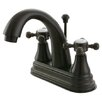 <strong>English Vintage Double Handle Centerset Bathroom Faucet with Brass ...</strong> by Kingston Brass