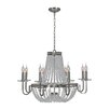 <strong>Ren-Wil</strong> Cesano 8 Light Crystal Chandelier