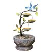 <strong>KelKay</strong> Resin-Stone Love Birds Branch Fountain