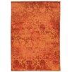 Pantone Universe Expressions Orange Oriental Area Rug