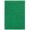 Pantone Universe Focus Green Shag Area Rug