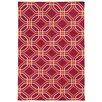 Pantone Universe Matrix Pink Geometric Rug