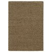 Pantone Universe Focus Brown Shag Area Rug