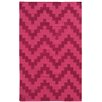 Pantone Universe Matrix Geometric Pink Area Rug