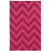 Pantone Universe Matrix Pink Geometric Area Rug