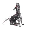 Jeco Inc. Lighted Howling Wolf Halloween Decoration