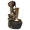 Jeco Inc. Pentole Pot Indoor/Outdoor Fountain with Illumination